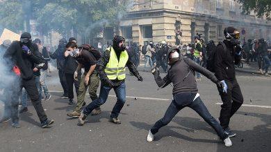 Photo of فرانس میں محنت کشوں کا مارچ، 300 افراد گرفتار