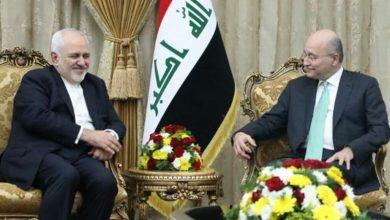 Photo of عراق کے صدر سے ایران کے وزیر حارجہ کی ملاقات