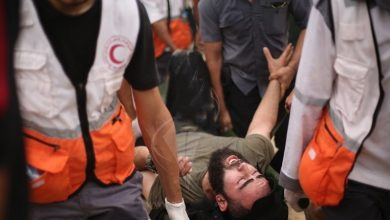 Photo of پرامن واپسی مارچ پر وحشیانہ حملہ ایک فلسطینی شہید 30 زخمی