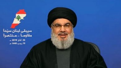 Photo of سینچری ڈیل کا مقابلہ کئے جانے کی ضرورت پر حزب اللہ لبنان کے سربراہ کی تاکید