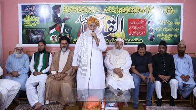 Photo of امام خمینی(رح) کی وجہ سے مسئلہ فلسطین زندہ ہے: متحدہ علماء محاذ