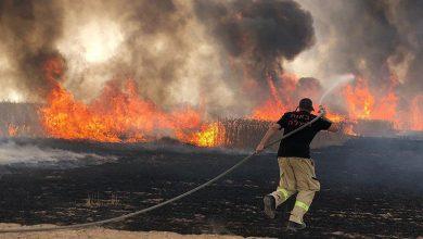 Photo of مقبوضہ فلسطین کے مختلف علاقوں میں آتشزدگی کے واقعات