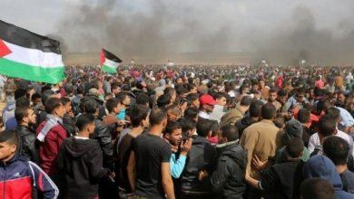 Photo of پرامن واپسی مارچ پر وحشیانہ، حملہ 16 فلسطینی زخمی