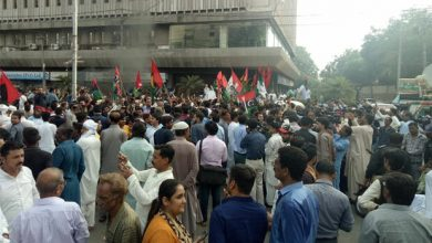 Photo of پاکستان کے سابق صدر کی گرفتاری کے بعد مظاہرے شروع ہوگئے