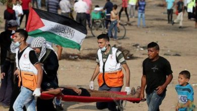 Photo of فلسطینیوں کے حق واپسی مارچ پر حملہ، 79 زخمی