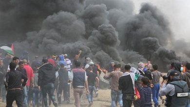 Photo of عالمی یو م القدس کے موقع پر واپسی مارچ پر وحشیانہ حملہ 10 فلسطینی زخمی
