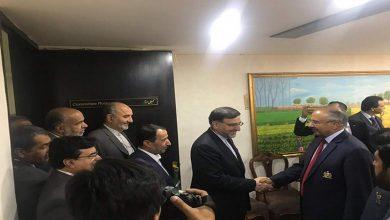 Photo of ایرانی پارلیمنٹرینزکی قومی اسمبلی آمد پر شانداراستقبال