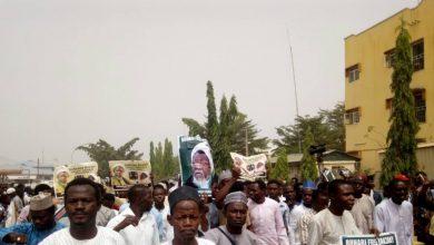 Photo of آیت اللہ شیخ زکزکی کی حمایت میں نائیجیریا کے مختلف علاقوں میں مظاہرے