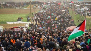 Photo of فلسطینیوں کے حق واپسی مارچ پر صیہونی فوجیوں کا حملہ، متعدد زخمی