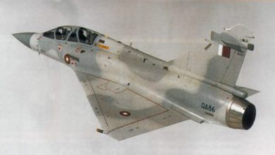 Photo of قطر کے 2 جنگی طیارے ٹکرا کر تباہ