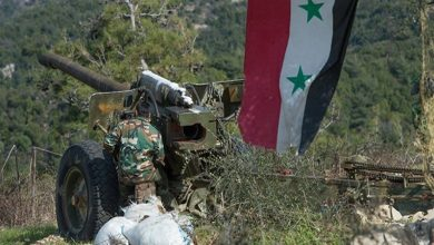 Photo of دہشت گردوں کے ٹھکانوں پر شامی فوج کی گولہ باری