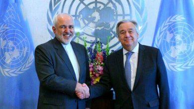 Photo of ایران کے وزیر خارجہ کی اقوام متحدہ کے سیکریٹری جنرل سےملاقات
