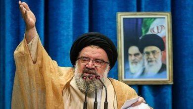 Photo of تہران کے خطیب جمعہ کی برطانیہ پر کڑی نکتہ چینی
