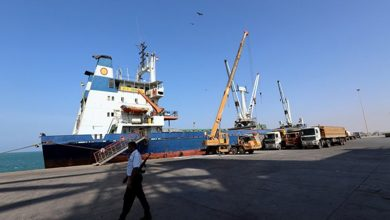 Photo of یمن کی نیشنل آئل کمپنی کے ملازمین کا سعودی اتحاد کے خلاف مظاہرہ