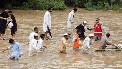 Photo of پاکستان میں سیلاب 30 افراد جاں بحق درجنوں لاپتہ