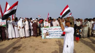 Photo of یمن کے صوبے المہرہ میں مظاہرے، سعودی فوج کے انخلا کا مطالبہ
