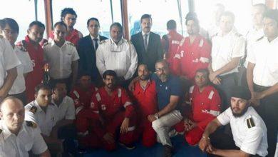 Photo of ایران: زیر حراست بحری جہاز کے عملے کے 9 افراد رہا
