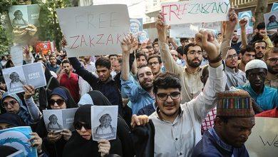 Photo of تہران میں نائجیریا کے سفارتخانے کے سامنے شیخ زکزاکی کی رہائی کیلئے مظاہرہ