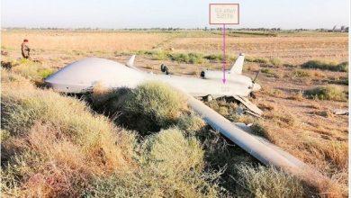 Photo of بغداد کے شمال مغرب میں امریکی ڈرون طیارہ گر کر تباہ