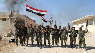 Photo of شامی فوج نے دہشت گردوں کے گرد گھیرا تنگ کر دیا