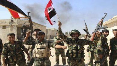 Photo of دہشت گردوں کے خلاف شامی فوج کی شاندار پیشقدمی