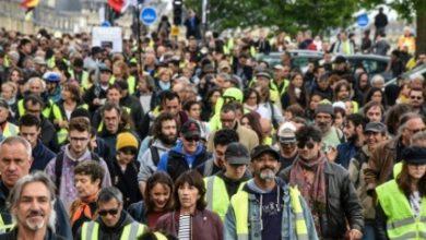 Photo of فرانس میں یلو جیکٹ تحریک کا چالیسویں ہفتے بھی مظاہرہ