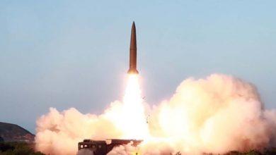 Photo of شمالی کوریا کا ایک اور میزائل تجربہ