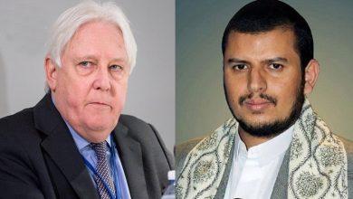 Photo of اسٹاک ھوم معاہدہ کے تناظر میں گریفیتھس کی عبدالملک الحوثی سے ملاقات