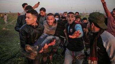 Photo of فلسطینیوں کے حق واپسی مارچ پر حملہ، 49 زخمی