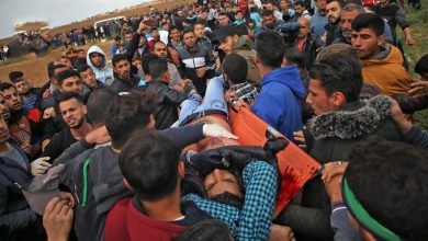 Photo of فلسطینیوں کے حق واپسی مارچ پر حملہ، 63 زخمی