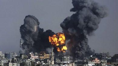 Photo of غزہ پر غاصب صیہونی حکومت کے جنگی طیاروں کی بمباری
