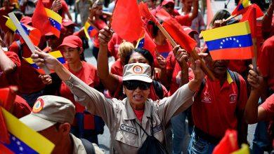 Photo of امریکی پابندیوں کے خلاف وینزویلا میں مظاہرے