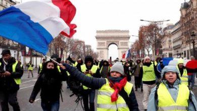 Photo of انتالیسویں ہفتے بھی پیرس کی سڑکوں پر مارچ