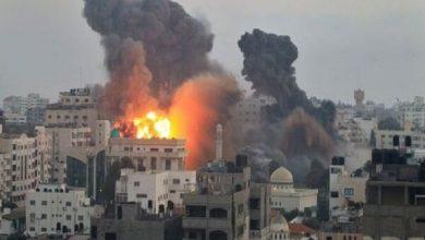 Photo of اسرائيلی جنگی طیاروں کی غزہ پر شدید بمباری