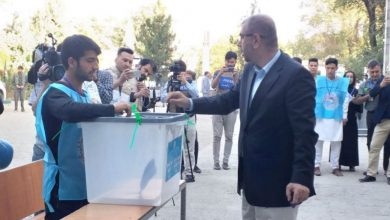Photo of افغانستان میں صدارتی الیکشن کا کامیاب انعقاد