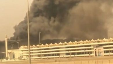 Photo of جدہ ریلوے اسٹیشن پر آتشزدگی کا واقعہ