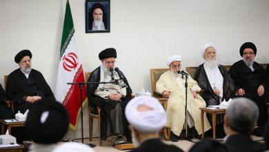 Photo of رہبرانقلاب اسلامی سے مجتہدین کی کونسل کے سربراہ اور اراکین کی ملاقات