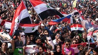 Photo of حلب کے شہروں میں امریکہ مخالف مظاہرے