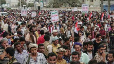 Photo of جارح سعودی اتحاد کے خلاف یمنی فوج کی غیر معمولی کارروائی کی حمایت میں ریلی