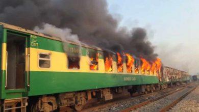Photo of ٹرین میں آتشزدگی 70 جاں بحق صدر اور وزیراعظم کی تعزیت