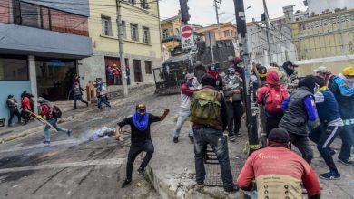 Photo of ایکواڈور: احتجاج کے دوران 7 افراد ہلاک 1340 زخمی
