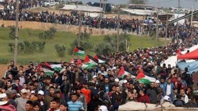 Photo of فلسطینیوں کے حق واپسی مارچ پر حملہ ایک فلسطینی شہید 40 زخمی