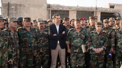 Photo of شام کے صدر کا ادلب کے اگلے محاذوں کا دورہ