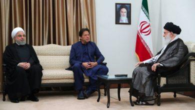 Photo of عمران خان رہبر انقلاب اسلامی اور صدر مملکت کے ہمراہ ۔ تصاویر