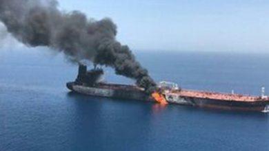 Photo of بحیرہ احمر میں ایران کے ایک آئل ٹینکر پر میزائلی حملے
