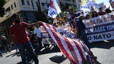Photo of یونان، امریکی پرچم نذر آتش