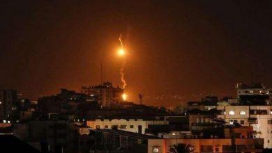 Photo of غزہ پٹی پر صیہونی حکومت کے جنگی طیاروں کے حملے