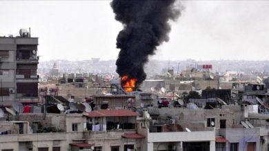 Photo of شام میں دہشت گردوں کے راکٹ حملے میں 7 افراد شہید