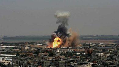 Photo of غزہ پراسرائیلی جنگی طیاروں کی وحشیانہ بمباری ایک فلسطینی شہید