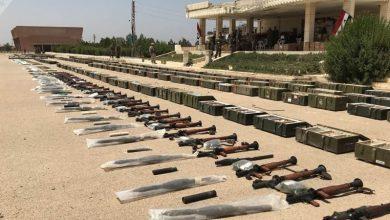 Photo of دمشق کے مضافات میں اینٹی ٹینک ٹاؤ میزائل سمیت بھاری مقدار میں اسلحہ اور گولہ بارود برآمد